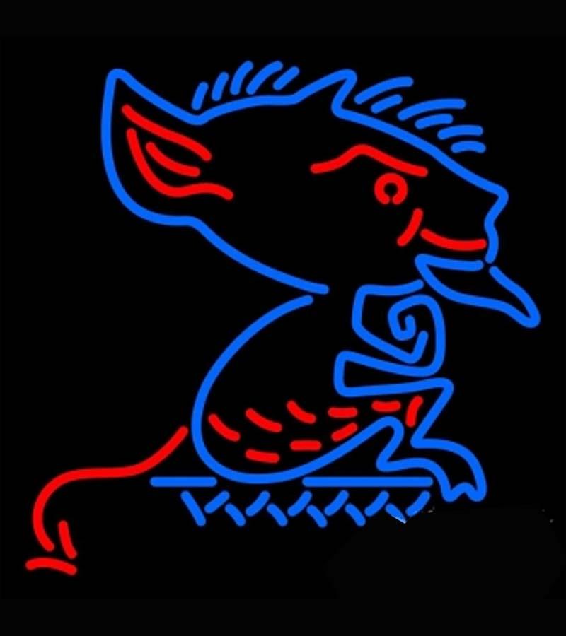 Depaul Blue Demons Primary 1979 1998 NCAA Neon Sign Dallas