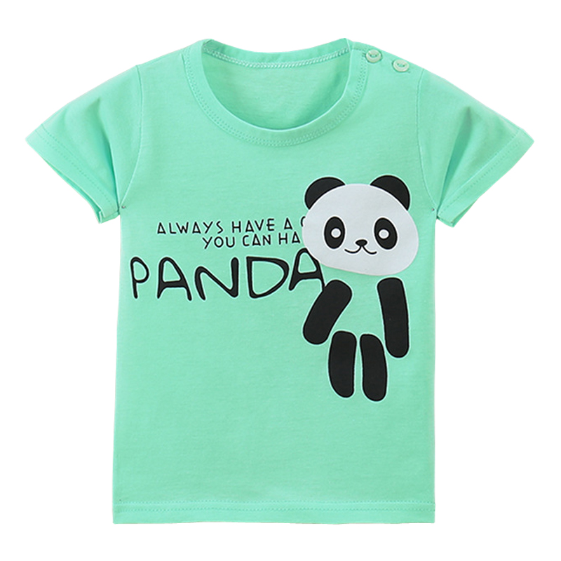 Fashion Cool Print Boys Girls Cotton T-shirts New Summer Boy Girl Teenagers Tops Shirts Tees Kids Clothes for 1-6T erkek Tshirt(China (Mainland))