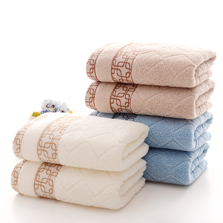 35*75cm 1pcs Embroidered Cotton Terry Hand Towels Set,Home Decorative Top Quality Face Bathroom Hand Towels Set,Toallas Mano(China (Mainland))