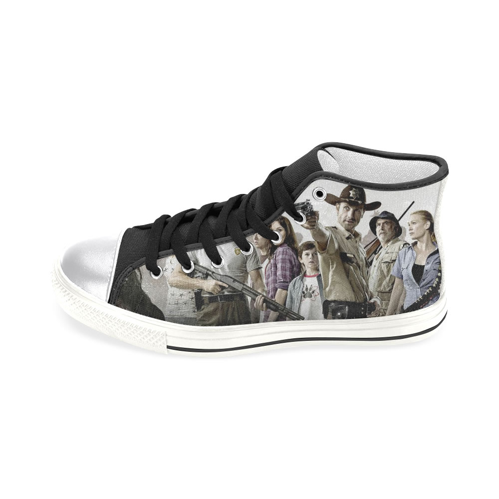 2016 Spring Summer Latest Fashion The Walking Dead Shoes Customizable(China (Mainland))
