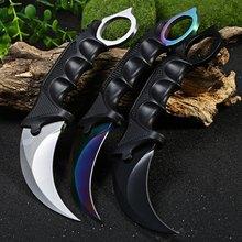 Охота Karambit нож CS GO Counter Strike тактический нож открытый Karambit ножи выживания отдых путешествия комплект