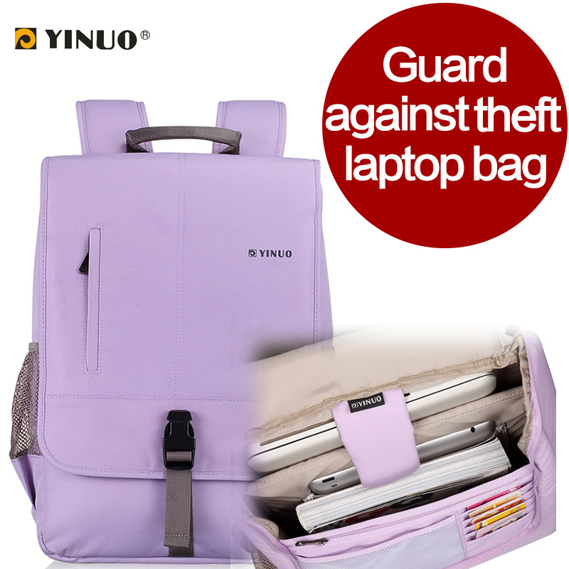 yinuo Laptop bag 13 inch 14 inch 15.6 inch computer backpack shoulder/suit man&woman(China (Mainland))