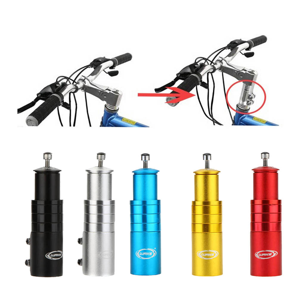 Aluminum Alloy Bicycle Stem Increased Control Tube Extend Handlebar Stem Heighten Bike Front Fork Bicycle Parts Accessories(China (Mainland))