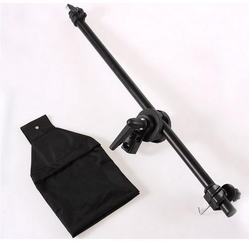 2015 HOT Photography 75-135cm Boom Arm With Sandbag Studio Support Light Stand Free Shipping<br><br>Aliexpress