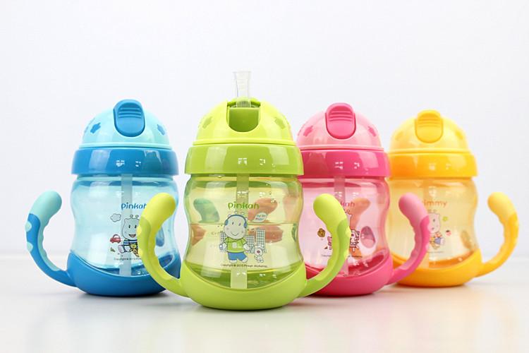Hot Sale 250ml Cute Cartoon Baby Cup Kids Children Learn font b Feeding b font Drinking