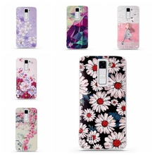 Shell For LG Tribute 5 / LG K7 Back Case Cover Printing Mandala Flower Datura Floral Cell Phone Cases for LG K7 Cover Fundas(China (Mainland))