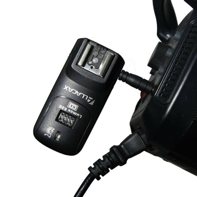 Lumox 520 2.4GHz 4In1 Trigger Kit for NIKON D7000 ,Radio Wireless Trigger Starter Kit  Shutter Release, TTL pass-through 1TX+1RX