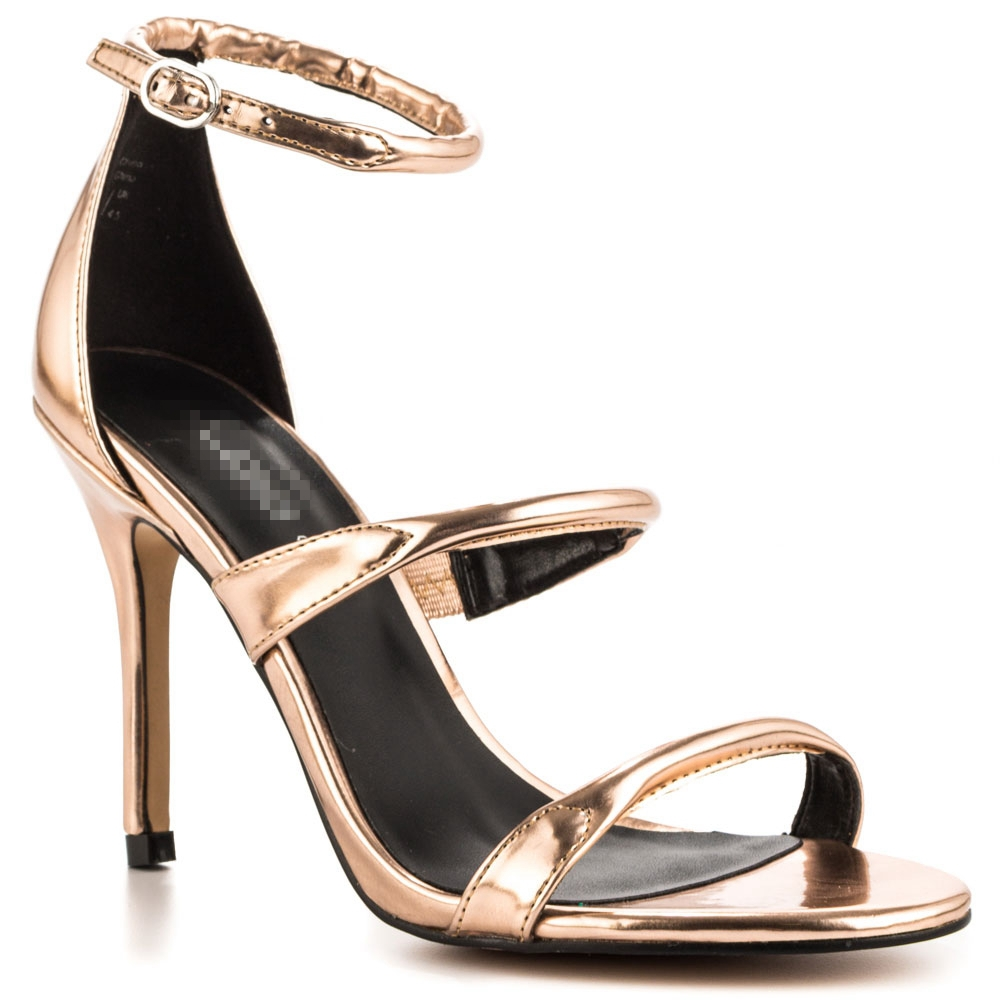 Champagne Patent Leather Women Shoes Open Toe Slingback Sandal Concise 2015 shoes woman sandals Summer Style Made-to-order<br><br>Aliexpress