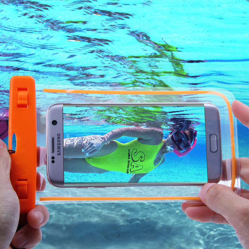 Swim Photography Waterproof Bag Touch Luminous Case For Xiaomi MI5 Redmi 3 Pro Water Proof Pouch For iPhone 5 6 Samsung S6 S7 J5(China (Mainland))