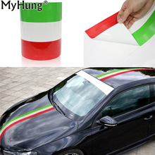 Buy DIY Italy Flag Car Stickers Adhesive Vehicle PVC Wrap Body Sticker Fiat 500 BMW Benz Mazda Ford Audi VW Car-Styling 1M 2M 3M for $7.60 in AliExpress store