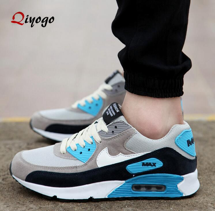 2016 Newest Men Women Outdoor Air Walking Shoes Breathable Sport Fashion Classic Trainer Shoes Size 36-44 No Logo(China (Mainland))