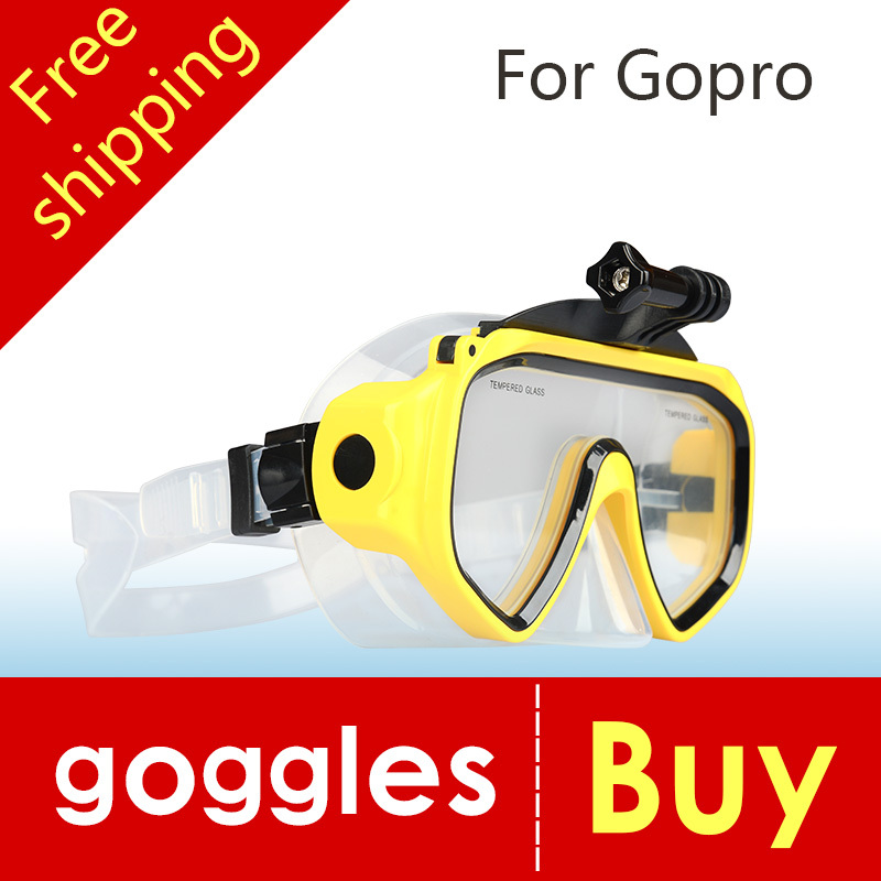 New High Quality Diving Glasses GoPro Hero 4 3+ 3 2 1 SJ4000 SJ5000 SJ6000