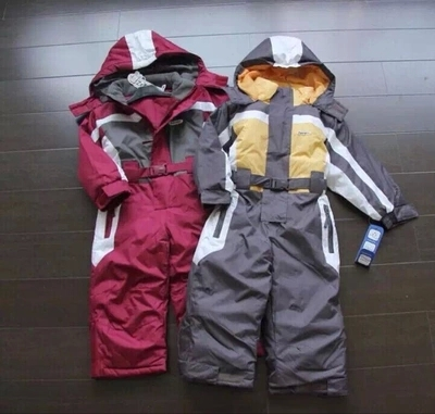 winter Rompers kids font b clothing b font font b boy b font outdoor waterproof coat