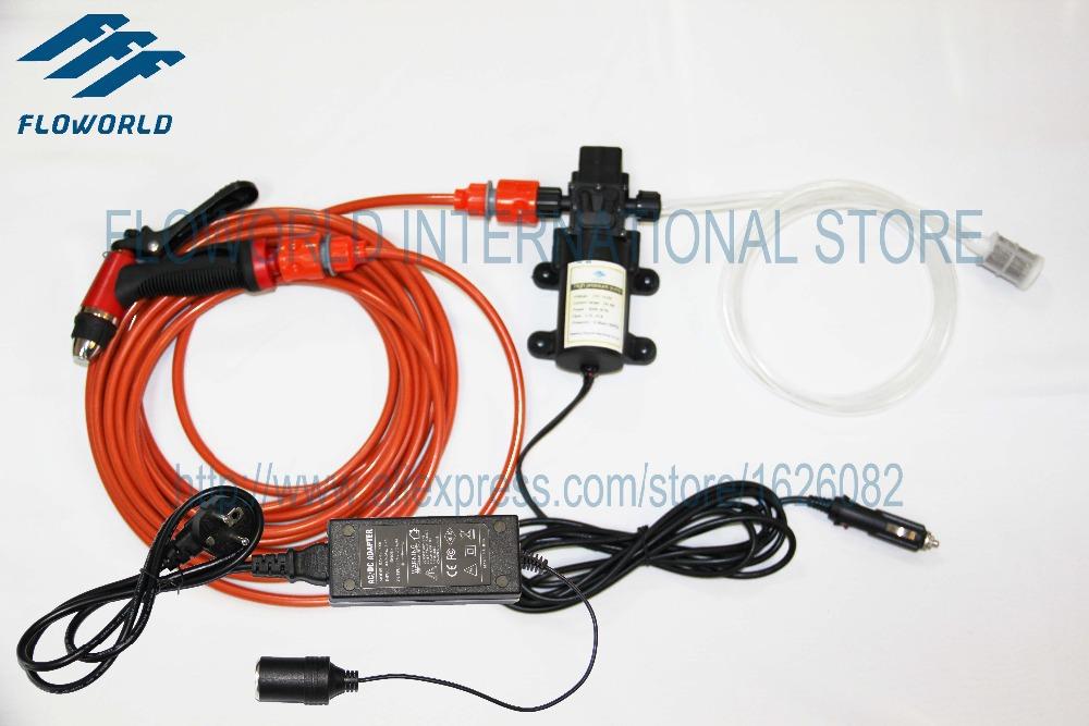 FLO-Series 110V Or 220V Intellighent High Pressure Car Wash 12V & 110V Or 220V Used Car Wash Portable Steam Car washer(China (Mainland))