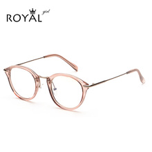 High Quality TR Frame Fashion Glasses Women Eyeglasses frame Vintage Round Clear Lens Glasses OS012(China (Mainland))