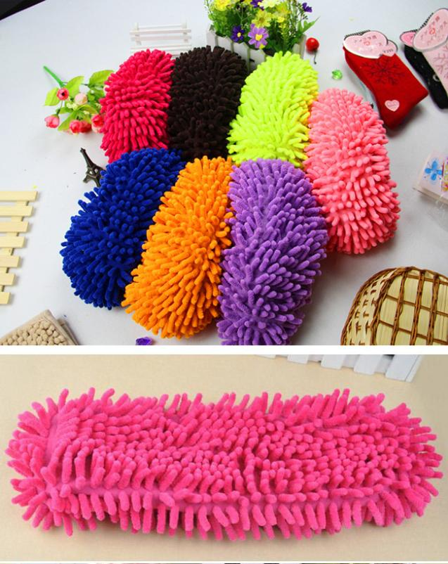 1X Mop Slipper Shoes Cover Lazy House Bathroom Floor Dust Cleaner Cleaning(China (Mainland))