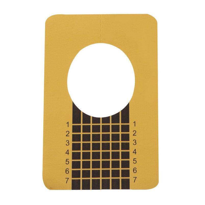 100 pçs/set profissional ferramentas unhas dicas Nail Art Form guia acrílico Gel ponta extensão adesivo unha polonês onda forma