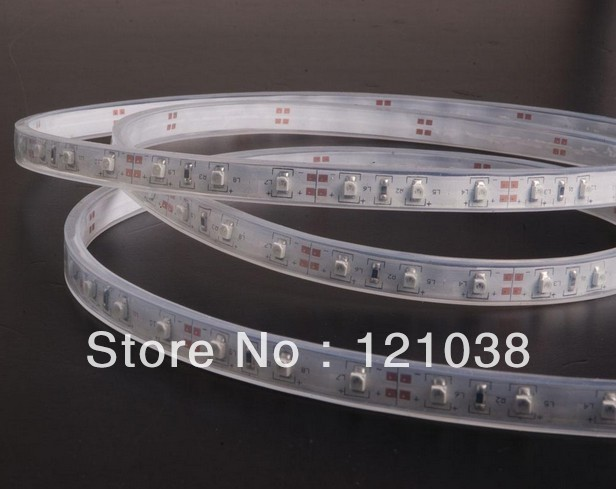 SMD 5050 Waterproof Flexible 60leds/m Decorated Cheap LED Strips(China (Mainland))
