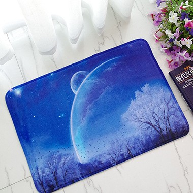 New 2016 Fashion 400X600mm Funny Doormat 3D flower print Floor Mat for Living Room Door Mats Bathroom Carpet (10)
