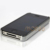Black + Silver Chrome Plated Bumper Brushed Hard Case Cover for iphone 4 4s