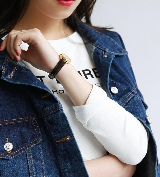 women ladies long sleeve Boyfriend style denim jacket metal button Oversized Jean vintage Coat Outwear plus size
