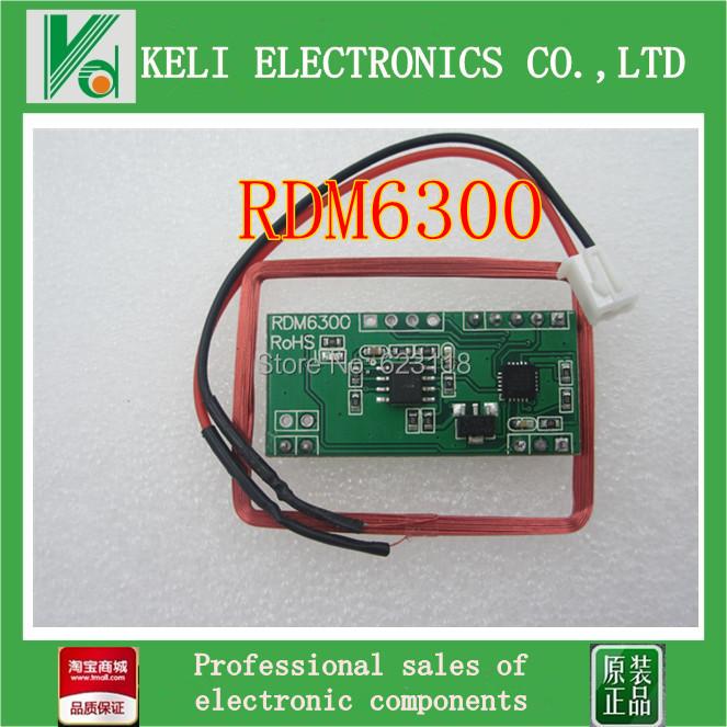 Гаджет  Free Shipping 1PCS 125Khz EM4100 RFID Card Key ID Reader Module RDM6300 (RDM630) For Ardui None Электронные компоненты и материалы
