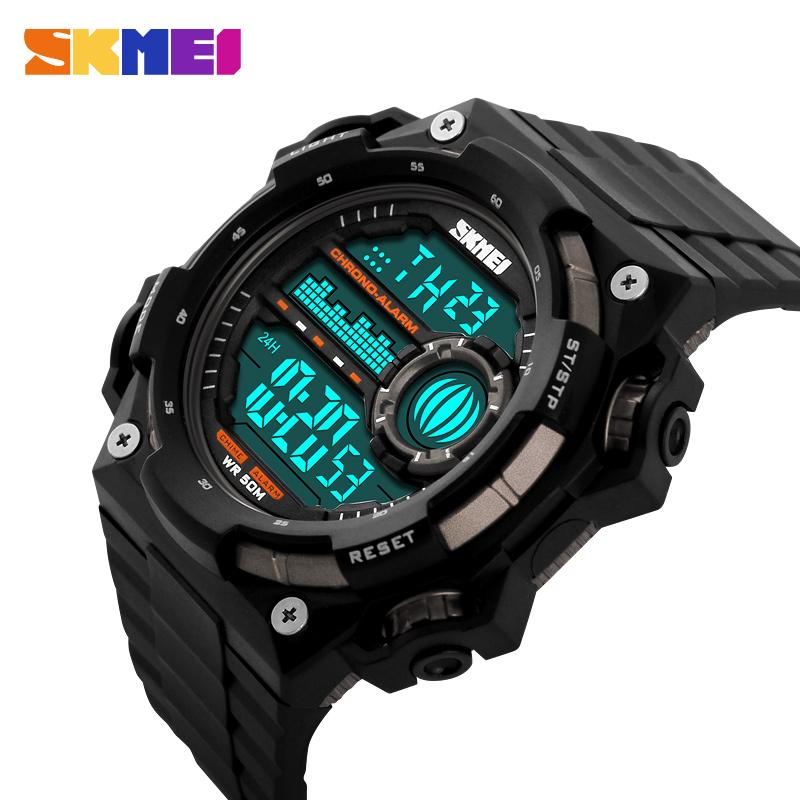 relogios masculinos 2016 Outdoor Sports Watches Men LED Digital Watch Military Men Sports Watches Digital Quartz Men LED Watch(China (Mainland))