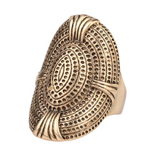 Fashion Vintage Punk Style Metal Gold Plated Big Ring Rock Band Luxury Jewelry ZK J0180 Vintage Accessories Wholesale