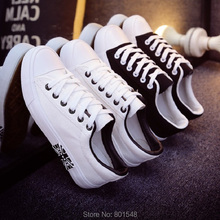 Size 35-44 # 2 Colors Best Selling Spring Lady Fashion Korean Canvas Shoes Comfortable Male Flat Casual Girl Shoes C036