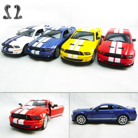 4 soft world FORD cobra shelby gt500 alloy car model(China (Mainland))