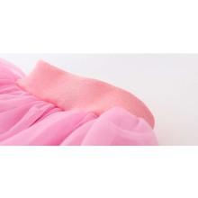 Retail children lace skirt Baby tutu skirt 2015 pink cake tutu girls skirts 2T 8 saia