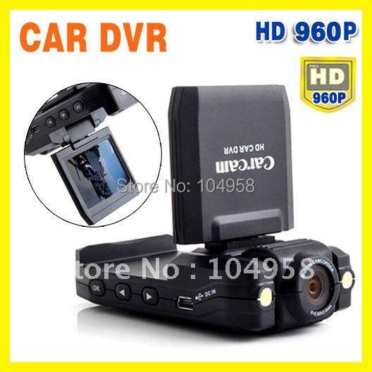 New Car DVR Recorder HD 1280x960 Night Vision Portable Car Camcorder DVR Carcam