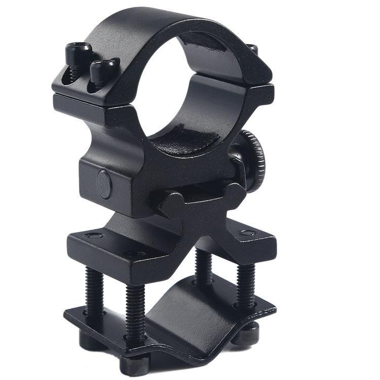 JKLONG scope or laser Torch Round hole flashlight Bracket  surefire barrel mount  black color<br><br>Aliexpress