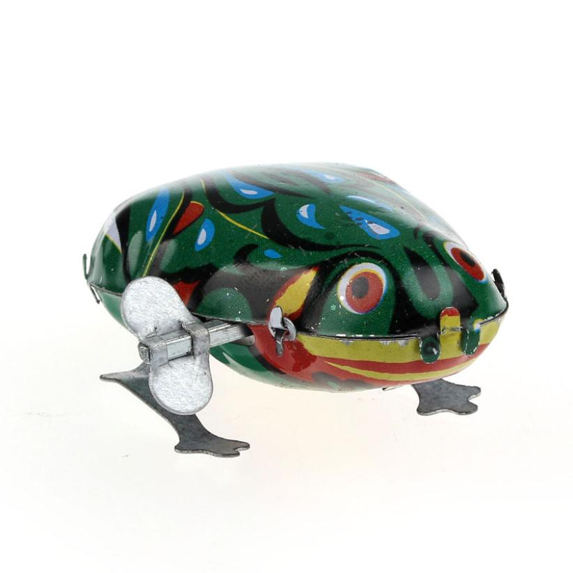 Modern Wind Up Jumping Frog Iron Clockwork Hopping Toys Collectible Classic Kids Gift for Easter Feb26<br><br>Aliexpress