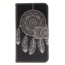 Luxury Flower Campanula owl Fashion Painting PU Leather Case For Sony Xperia Z5 Compact Z5 Mini Flip magnetic Wallet Stand Cover