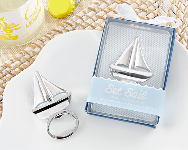 100pcs/lot Wedding favor Beach favor Set Sail Sailboat Bottle Opener Wine Opener Wedding Party Gifts Free shipping(China (Mainland))