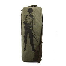 Outdoor Travel Luggage Army Bag Men Military Backpack Canvas Mountain Hiking Backpack Camping Tactical Rucksack mochila XA584H