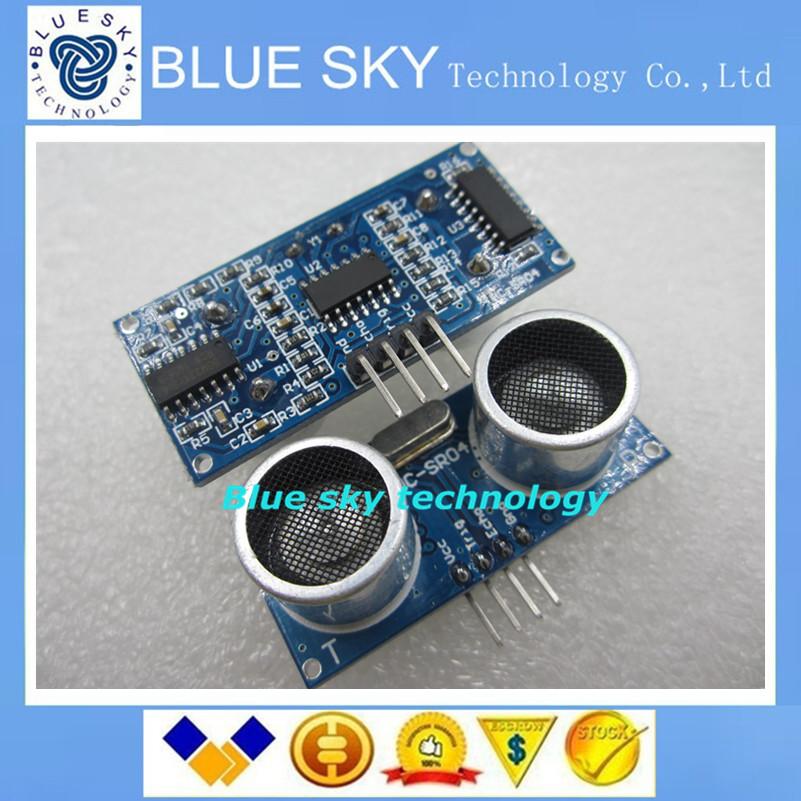 new 1pcs Ultrasonic Module HC-SR04 Distance Measuring Transducer Sensor for Arduino Samples Best prices(China (Mainland))
