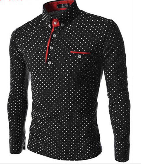 Mens T Shirts Slim Fit Color Stylish V Neck Long Sleeve T