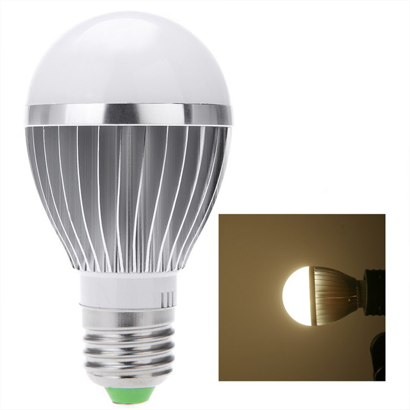 Гаджет  1pc E27 3W 5W Sound & Light Sensor Auto PIR Motion Detection LED Light Lamp BulbDrop Shipping Wholesale Quality None Свет и освещение