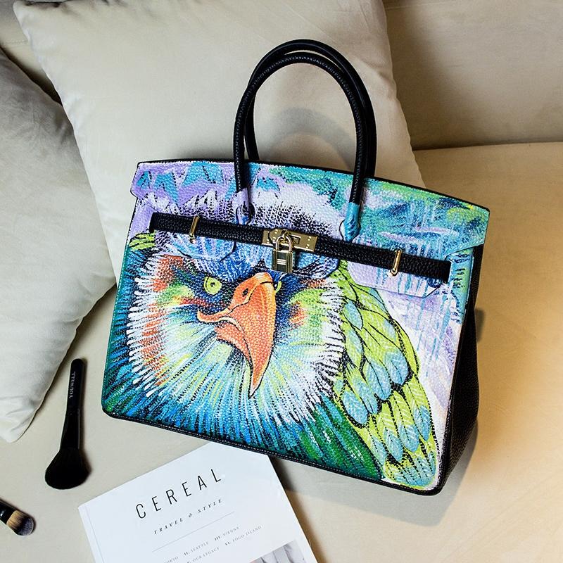 American eagle en cuir promotion achetez des american eagle en cuir promotionnels sur aliexpress Decoration noir or luxe classe
