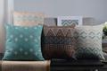 Modern Bohemian Home Decor Pillow Decorative Pillowcase Cotton Linen Sofa Cushion Cross Sofa Cover Free shipping