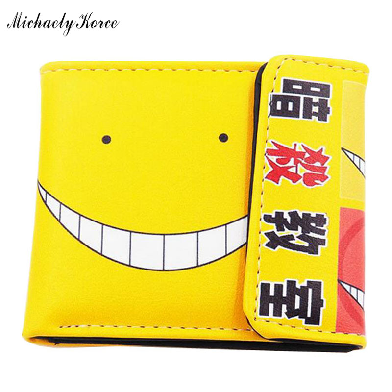 Brand New Colorful Smile Printing Comics Childrens Wallets,Multi-card Bits ID Credit Card Holder For Men,Fashionable Cute Purse<br><br>Aliexpress