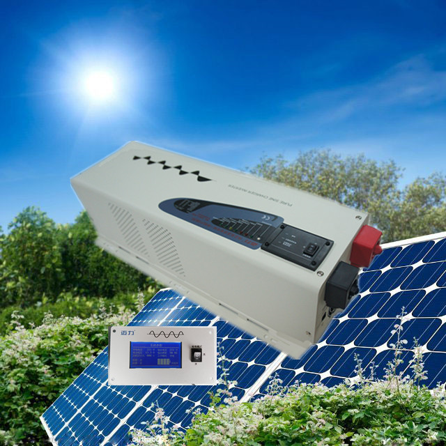 CE,ROHS,ISO9001 approved, 50Hz low frequency pump inverter dc48v to ac220v power inverter 6000w(China (Mainland))