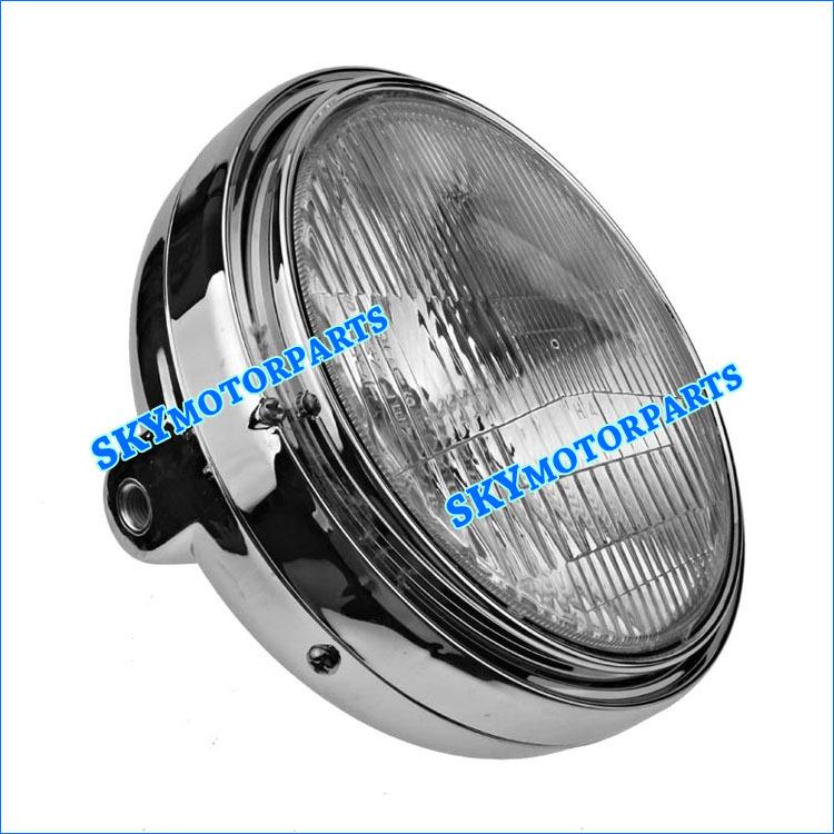 For HONDA CB400 1992-1998 CB-1 headlight motorcycle headlights assembly bowl ( plating plastic )(China (Mainland))