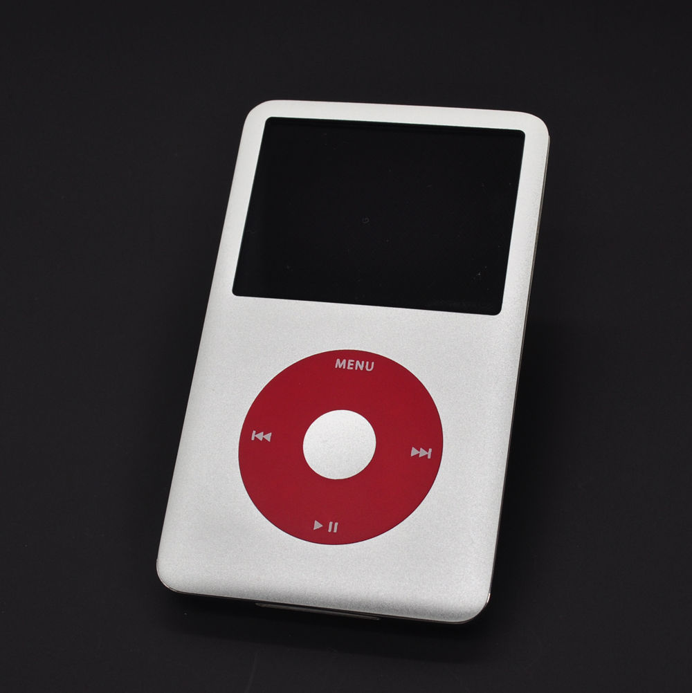 original custom for apple ipod classic 7th gen 160gb silver mp3 player latest model in mp3. Black Bedroom Furniture Sets. Home Design Ideas