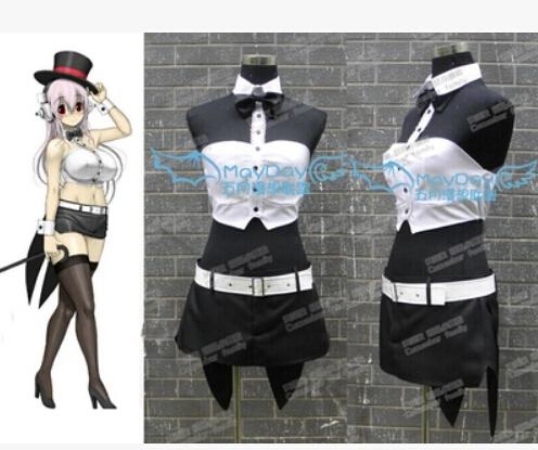 Anime Super sonic magician cosplay costume lolita punk ver dress customized setОдежда и ак�е��уары<br><br><br>Aliexpress