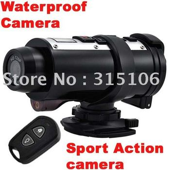 Free Shipping New Waterproof HD 720P Helmet Sport Action Mini DVR Camera Camcorder 120 Degree Cam