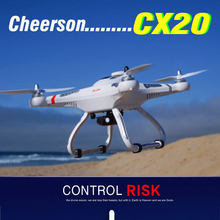 Origional Cheerson CX20 CX-20 CX 20 2.4G RC Quadcopter 4 Axis Helicopter with GPS drones Auto Pathfinder FPV RTF DHL free(China (Mainland))