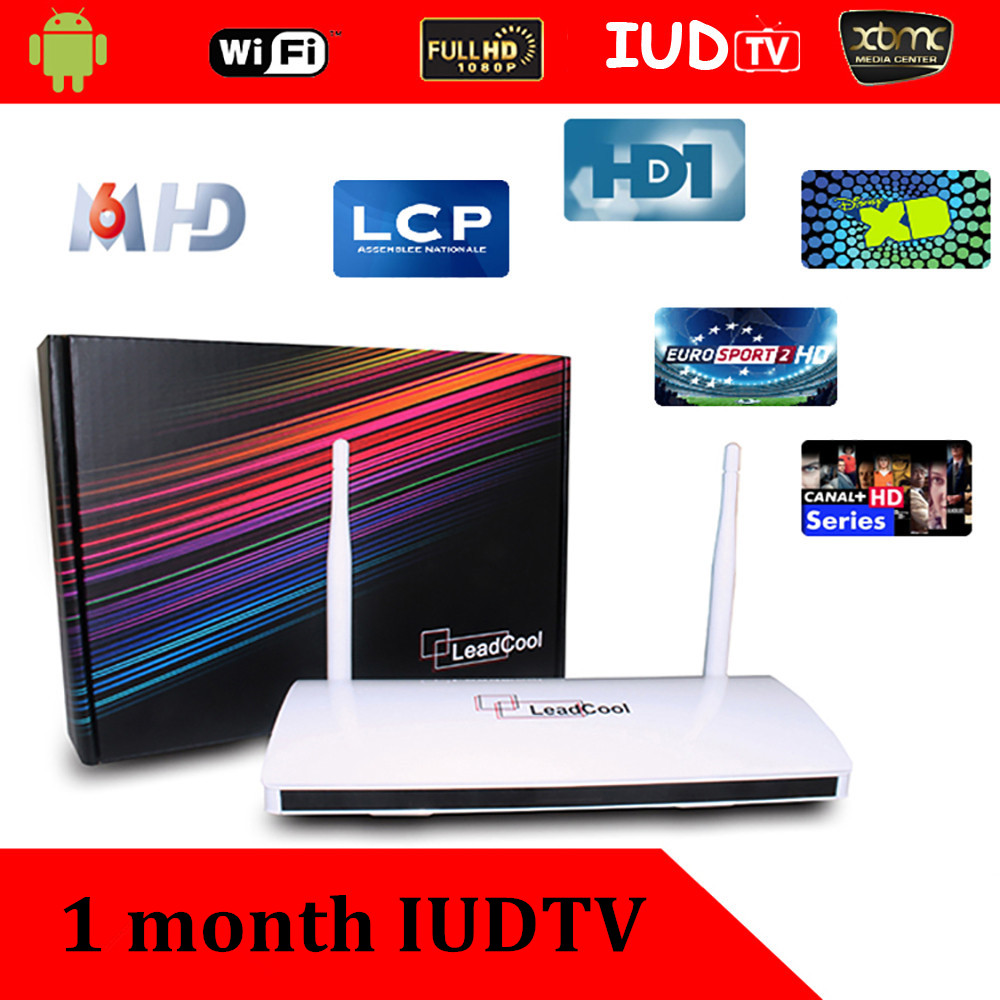 New iptv box Android iptv box leadcool TV box with 1 month iudtv SKY UK DE IT Bein sports<br><br>Aliexpress